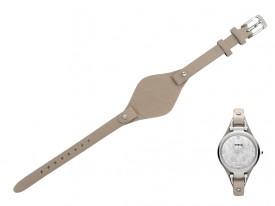 Pasek do zegarka Fossil Georgia ES3150 beżowy
