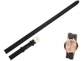 Pasek Michael Kors MK2322 czarny długi 12 mm