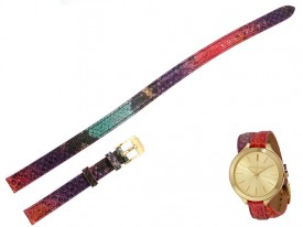 Pasek Michael Kors MK2390 kolorowy długi 12 mm