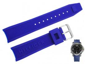 Pasek do zegarka Tommy Hilfiger TH 1791010 niebieski