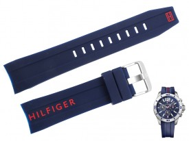 Pasek do zegarka Tommy Hilfiger TH 1791142 niebieski