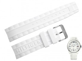 Pasek do zegarka Tommy Hilfiger TH 1791044 biały