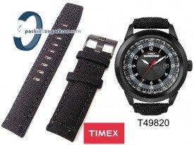 T49820 - Pasek Timex czarny 22mm