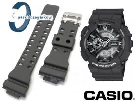 Pasek do zegarka Casio G-Shock - GA-110C - kolor: szary